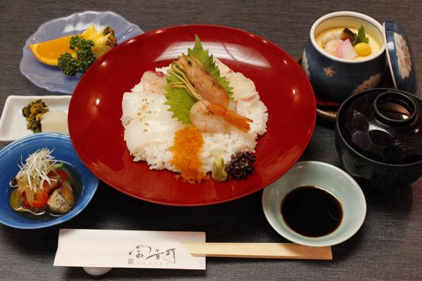 【平日限定 月替り御膳10月】 『特製 海鮮丼御膳』