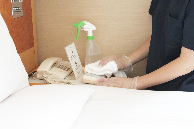 「3密回避」×「衛生管理」~フロント・客室の感染症対策~