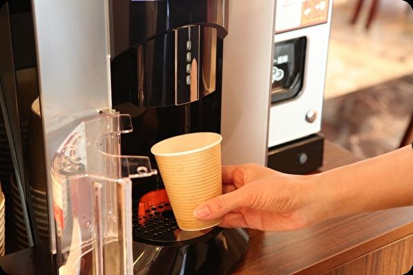 食後のコーヒーはお部屋でもどうぞ
